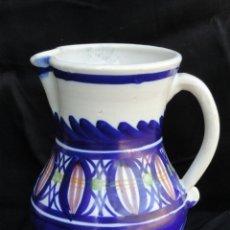 Antigüedades: BONITA JARRA DE PORCELANA DE MANISES.. Lote 172367983