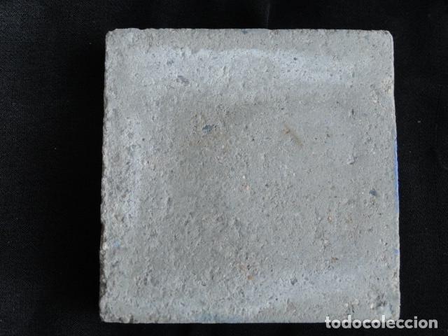 Antigüedades: BONITO AZULEJO BALDOSA RAJOLA DECORADA - AGUILA IMPERIAL -. - Foto 2 - 172368680