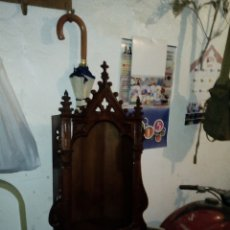 Antigüedades: ANTIGUA CAPILLA DE MADERA,. Lote 172372724
