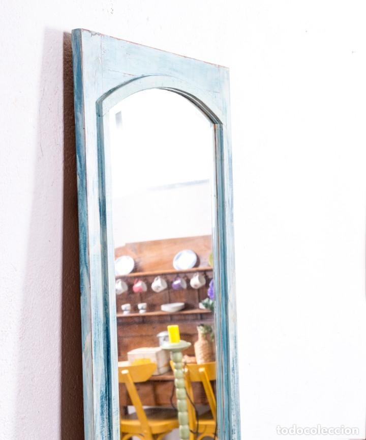 Antigüedades: Espejo Antiguo Restaurado Alice - Foto 2 - 172383088