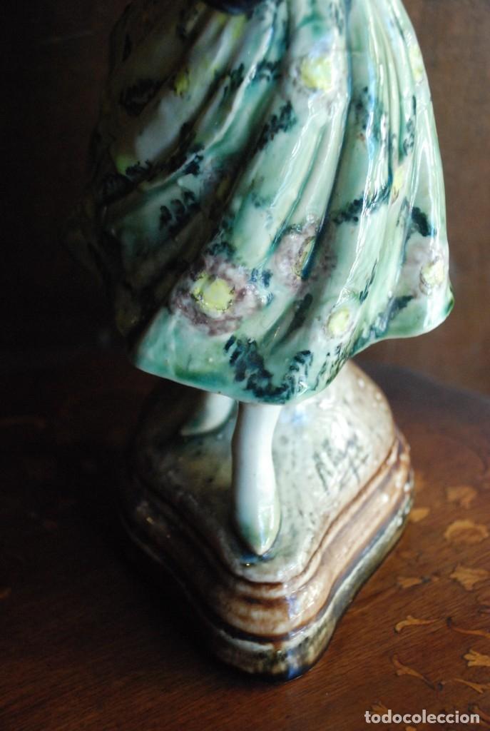 Antigüedades: PRECIOSA VALENCIANA ANTIGUA DE CERÁMICA PEYRO - Foto 9 - 172396314