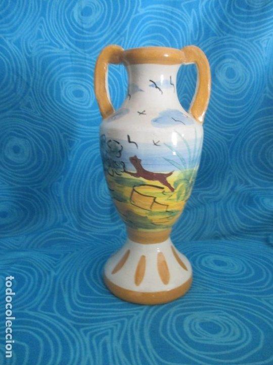 Antigüedades: ANTIGUA JARRA O JARRON, 21 CM ALTO - Foto 2 - 172404645