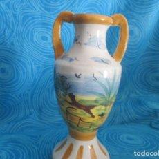 Antigüedades: ANTIGUA JARRA O JARRON, 21 CM ALTO. Lote 172404645