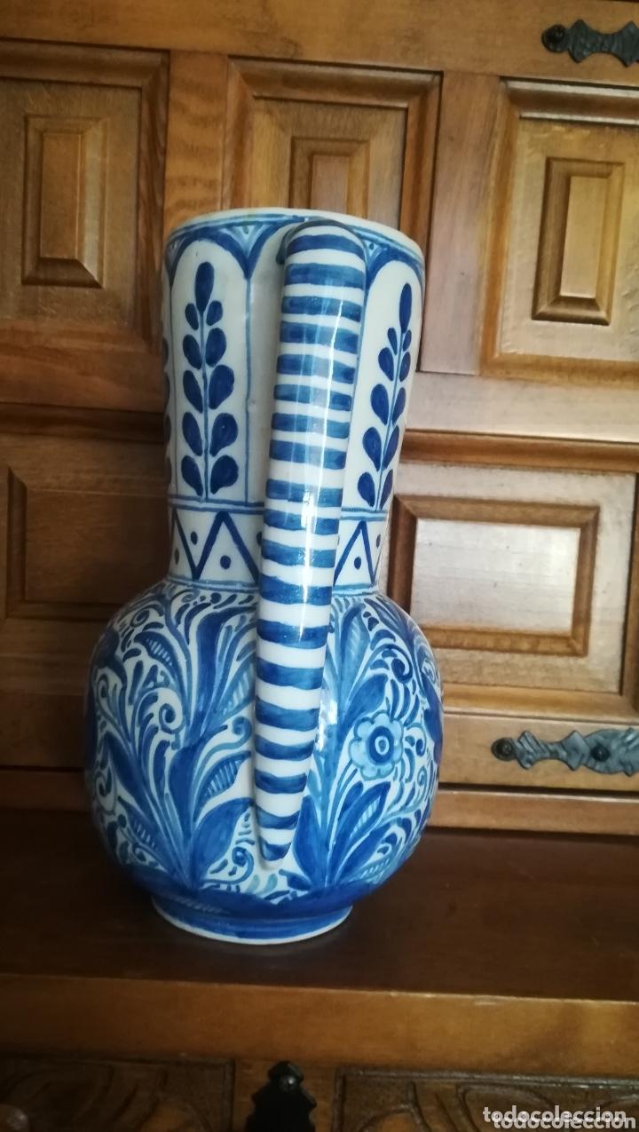 Antigüedades: Antigua jarra de cerámica de Talavera, Ruiz de Luna - Foto 4 - 172406659