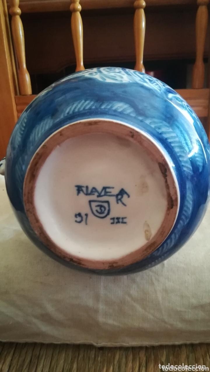 Antigüedades: Antigua jarra de cerámica de Talavera, Ruiz de Luna - Foto 5 - 172406659