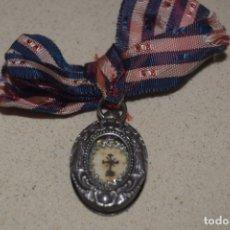 Antigüedades: RELICARIO DE PLATA . Lote 172429244