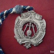 Antigüedades: SEMANA SANTA DE HUELVA - MEDALLA CON CORDON DE LA HERMANDAD DE LA LANZADA. Lote 172453270