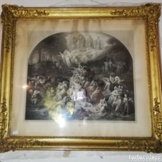 Antigüedades: GRAN MARCO DORADO, SIGLO XIX. Lote 172464720