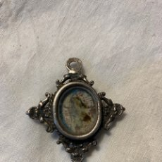 Antigüedades: RELICARIO EN PLATA SXVIII. Lote 172581825