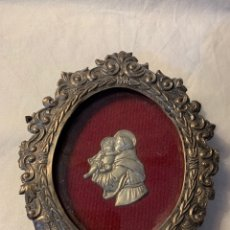 Antigüedades: RELICARIO DE PLATA SXX. Lote 172582180