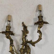 Antigüedades: APLIQUE EN BRONCE. Lote 172594675