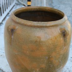 Antigüedades: ORZA ANTIGUA DE BARRO VIDRIADO. Lote 172604400
