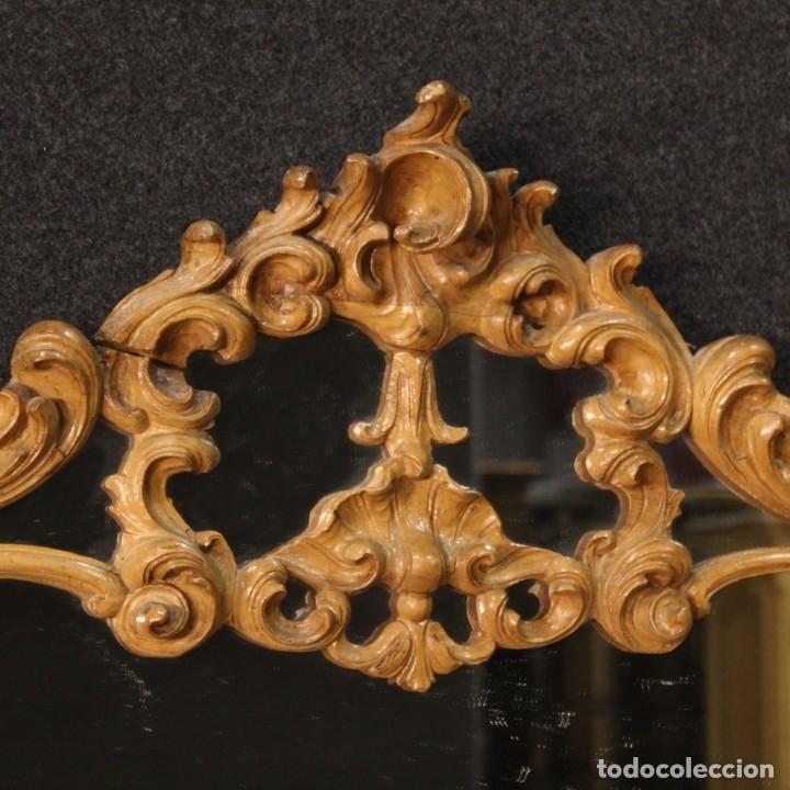Antigüedades: Cómoda italiana con espejo en madera - Foto 10 - 172629017