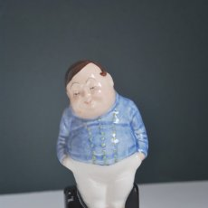 Antigüedades: FIGURA DE PORCELANA ROYAL DOULTON - SERIE PERSONAJES DICKENS - FAT BOY - CLUB PICKWICK. Lote 172657495