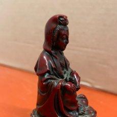 Antigüedades: PRECIOSA DIOSA DEL AMOR, EN RESINA, MIDE UNOS 5CMS DE ALTURA. Lote 172712922