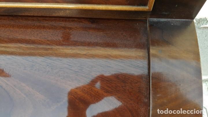 Antigüedades: Escritorio antiguo cilindro estilo Luis XVI. Mueble secreter canterano buró bureau antiguo imperio - Foto 13 - 172723879