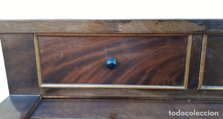 Antigüedades: Escritorio antiguo cilindro estilo Luis XVI. Mueble secreter canterano buró bureau antiguo imperio - Foto 31 - 172723879