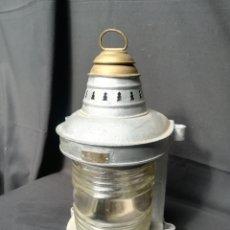 Antigüedades: LÁMPARA/ FAROL DE BARCO U.S.A. Lote 172725765