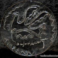 Antigüedades: PLATO CRISTAL RAFAEL ALBERTI PALOMA DE LA PAZ CALIDAD COLECCION. Lote 172740512