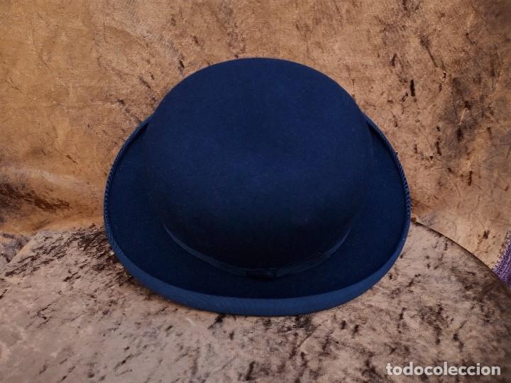 Antigüedades: Sombrero bonbin Rix Paris, hacia 1900 - Foto 3 - 172754178