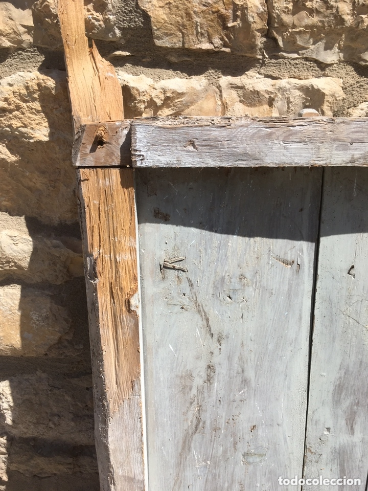 Antigüedades: Ventana casa aragonesa SXVIII - Foto 3 - 172754315