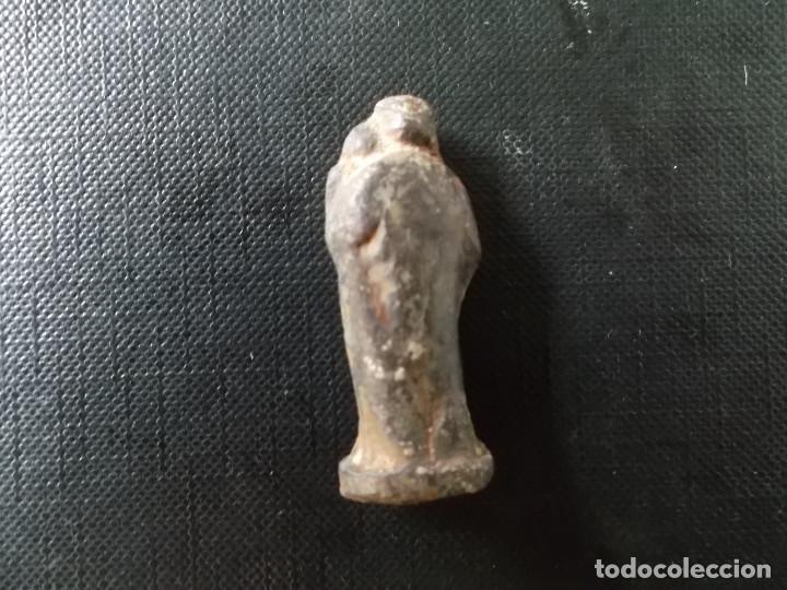 Antigüedades: figura de Sant Jose plomo siglo XVI en muy buen estado ver fotos - Foto 2 - 172778629