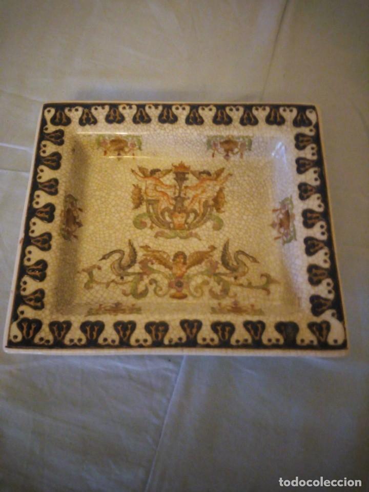 BANDEJA DE PORCELANA WONG LEE WL 1895 . (Antigüedades - Porcelanas y Cerámicas - China)