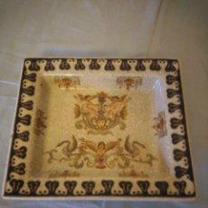 Antigüedades: BANDEJA DE PORCELANA WONG LEE WL 1895 .. Lote 172779435
