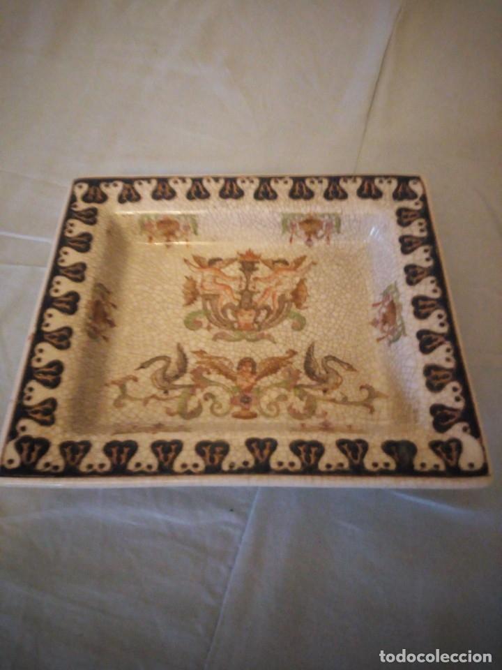 Antigüedades: Bandeja de porcelana Wong Lee WL 1895 . - Foto 2 - 172779435