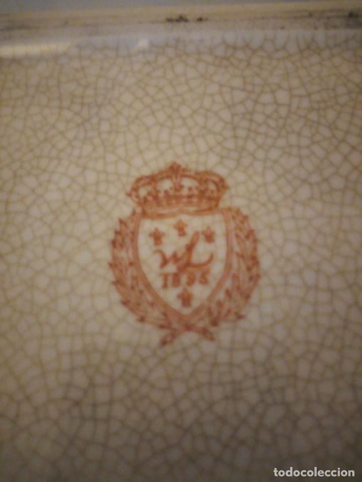 Antigüedades: Bandeja de porcelana Wong Lee WL 1895 . - Foto 5 - 172779435