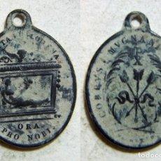 Antigüedades: MEDALLA RELIGIOSA SIGLO XIX. Lote 172783005