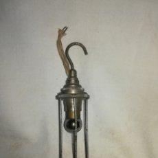 Antiquités: ANTIGUA LINTERNA PARECE DE MECANICO. . Lote 172794399