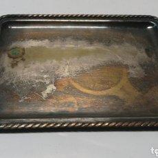 Antigüedades: BANDEJA DE ALPACA. Lote 172794450