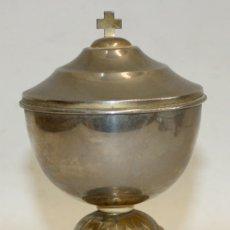 Antigüedades: COPON DE APROXIMADAMENTE 1920 REALIZADO EN METAL Y ZONAS LIGERAMENTE DORADAS. Lote 172810753