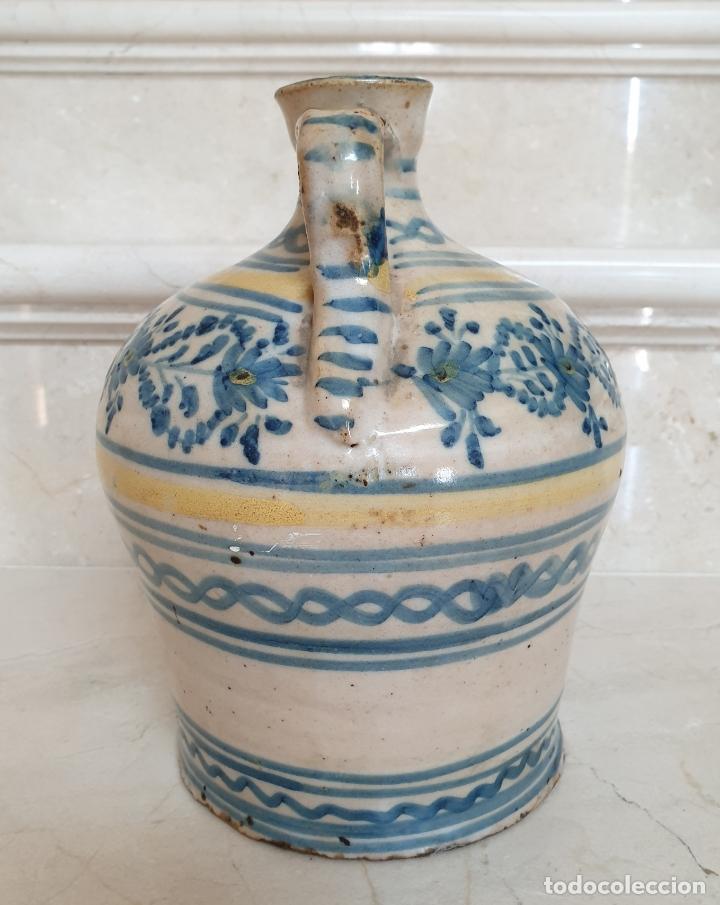 Antigüedades: MAGNIFICA ALCUZA,JARRA EN CERAMICA DE PUENTE DEL ARZOBISPO,(TOLEDO),S. XIX - Foto 2 - 172825940