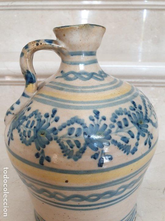 Antigüedades: MAGNIFICA ALCUZA,JARRA EN CERAMICA DE PUENTE DEL ARZOBISPO,(TOLEDO),S. XIX - Foto 5 - 172825940