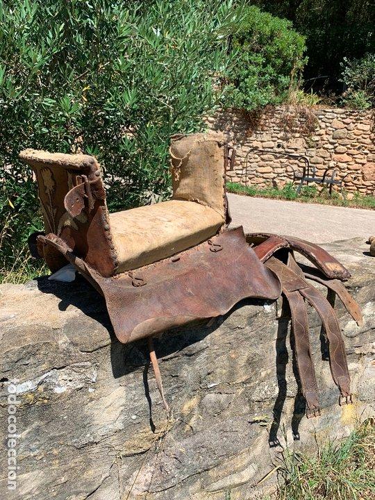 Antigüedades: EXCEPCIONAL SILLA DE MONTAR PARA NOVIA O DAMA , DEL SIGLO XVIII - XIX - Pieza de Museo - Foto 7 - 160297866