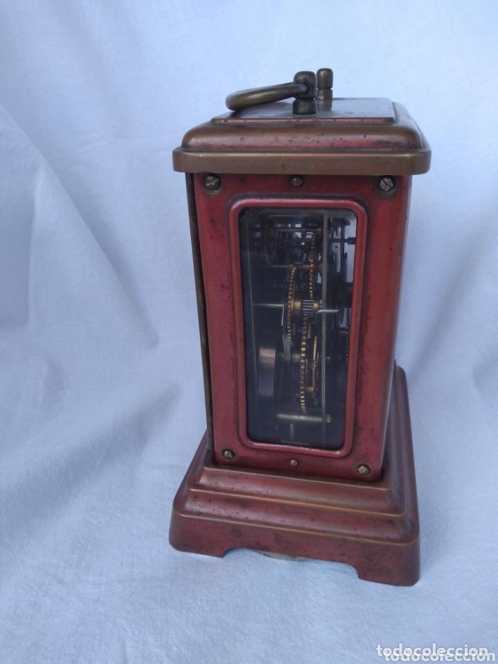 Antigüedades: Reloj de viaje junghans.(Wurtemberg) - Foto 3 - 172837138