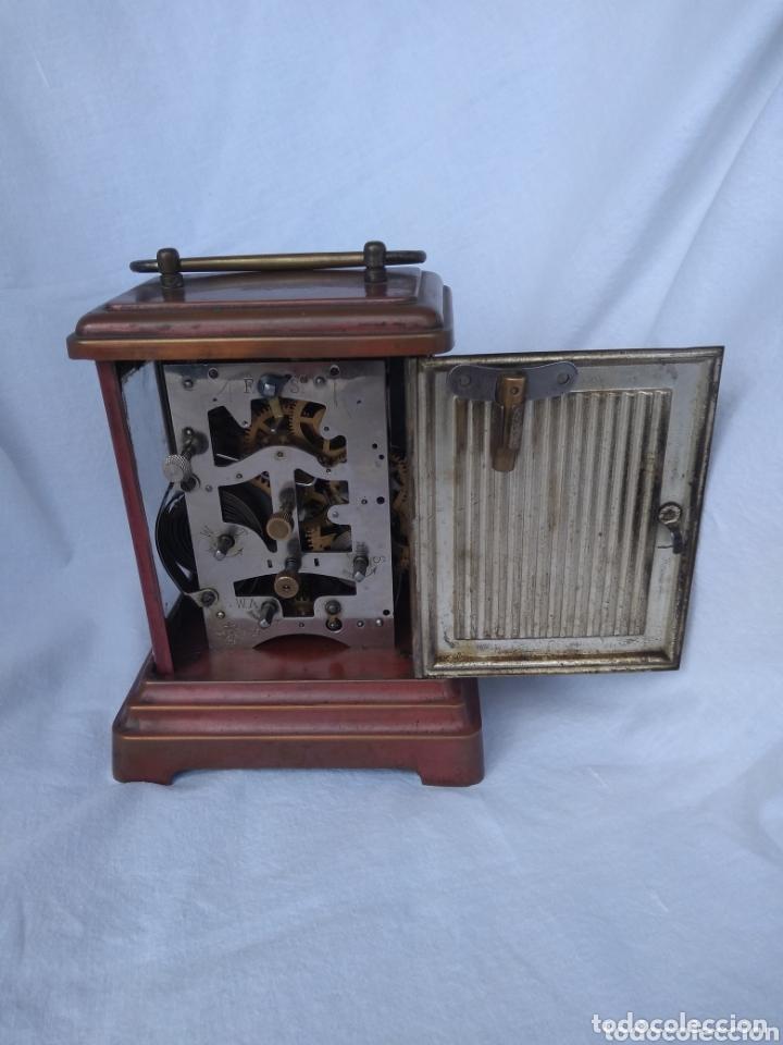 Antigüedades: Reloj de viaje junghans.(Wurtemberg) - Foto 4 - 172837138