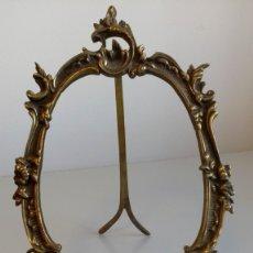 Antigüedades: MARCO DE BRONCE. Lote 172850473