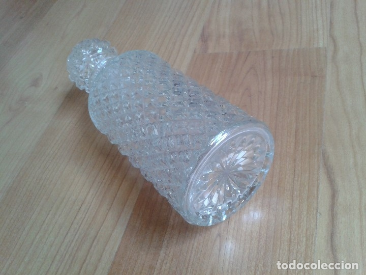 Antigüedades: Botella -- Licorera -- Cristal Tallado -- Cilindrica -- Italia - Foto 5 - 172854665