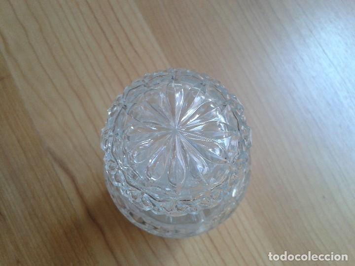 Antigüedades: Botella -- Licorera -- Cristal Tallado -- Cilindrica -- Italia - Foto 4 - 172854665