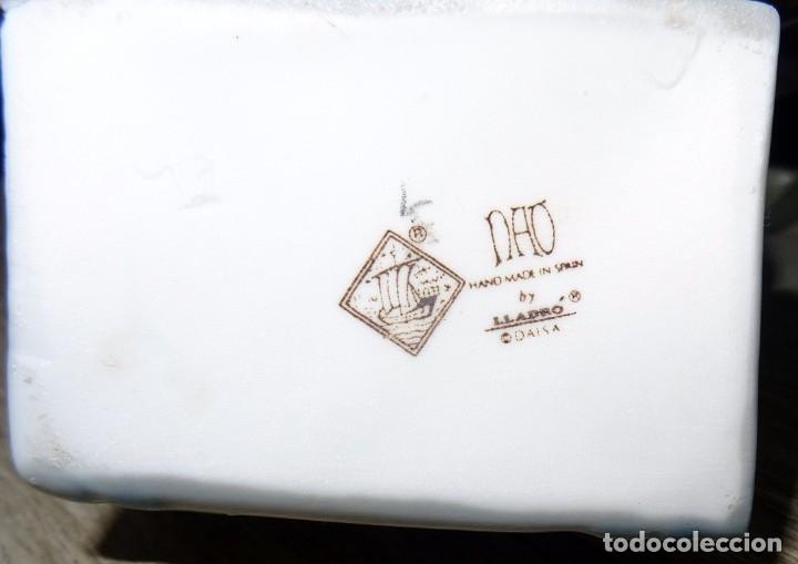 Antigüedades: FIGURA DON QUIJOTE EN PORCELANA NAO DE LLADRÓ - Foto 20 - 172863078