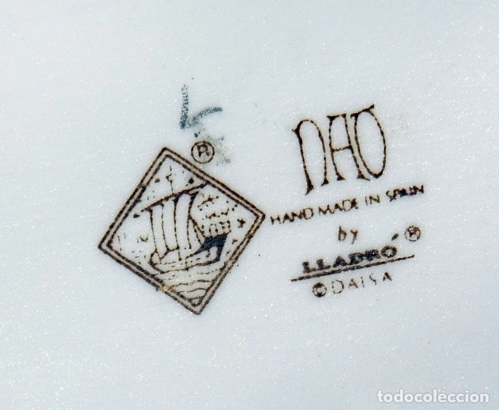 Antigüedades: FIGURA DON QUIJOTE EN PORCELANA NAO DE LLADRÓ - Foto 21 - 172863078