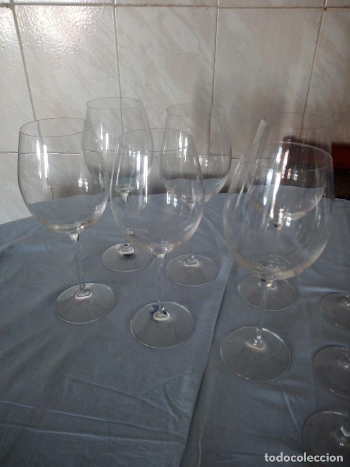 Antigüedades: Cristalería copas de vino y champagne villeroy & boch savoy 24% lead crystal.12 piezas. - Foto 4 - 172869955
