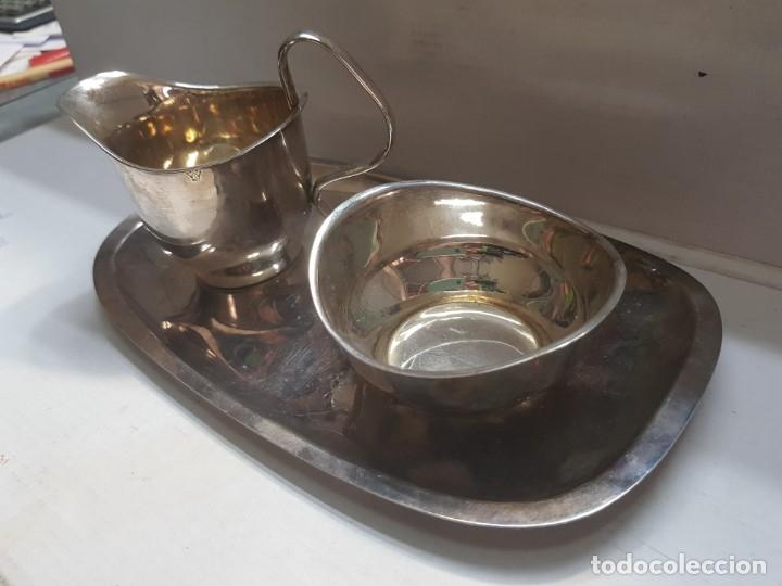 Antigüedades: Juego Plata VN muy difícil de encontrar siglo XIX sellado - Foto 3 - 172875580