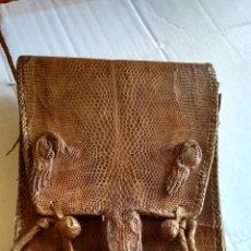 Antigüedades: BOLSO LAGARTO ANTIGUO LEER ANTES DE COMPRAR. Lote 172877799