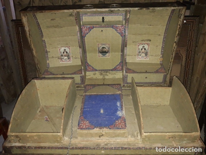Antigüedades: Baúl de viaje - Foto 6 - 172879809