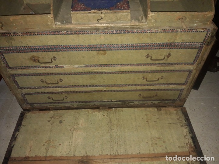 Antigüedades: Baúl de viaje - Foto 8 - 172879809