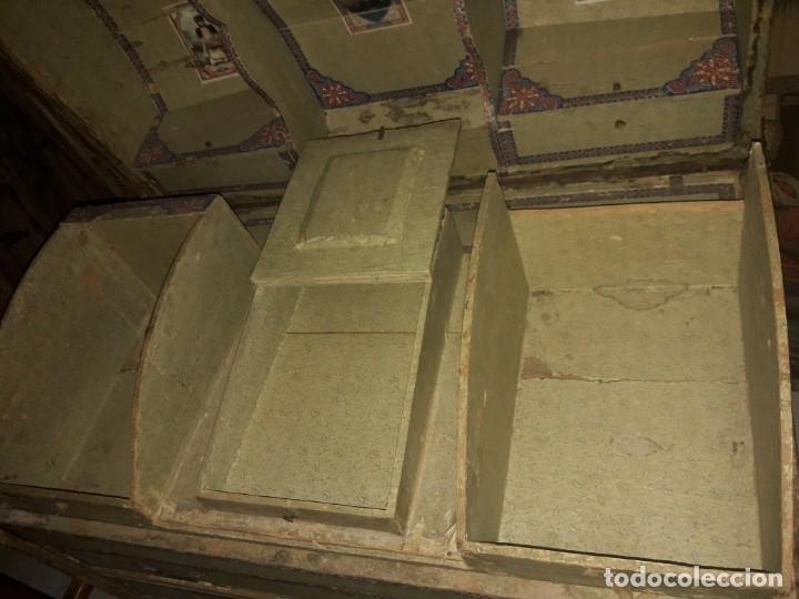 Antigüedades: Baúl de viaje - Foto 9 - 172879809